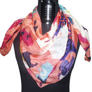 Printed scarf from India