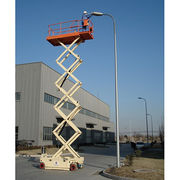 Hydraulic material moving platform high lift Manufacturer