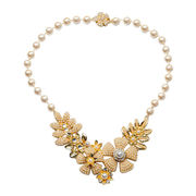 Vogue Beaded Statement Necklace from China (mainland)