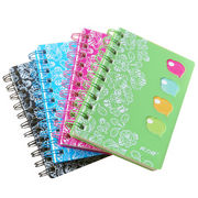 Spiral PP cover notebook Manufacturer