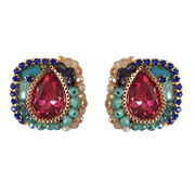 Handcrafted Crystal Earring from Hong Kong SAR