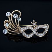 Fashion Golden Alloy Metal Brooches from China (mainland)