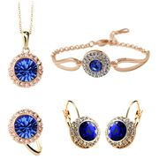 Fashionable Golden Jewelry Sets from China (mainland)