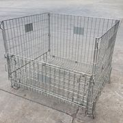 Collapsible warehouse storage mesh basket from China (mainland)