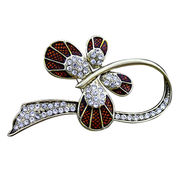 Retro Butterfly Alloy Metal Brooches from China (mainland)