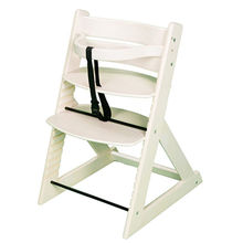 China Professional wooden babies' high chair, measures 45*49*78cm