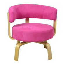 Colorful and comfortable wooden sofa chair from China (mainland)