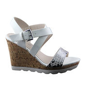 Peep-toe Wedge Sandals from China (mainland)