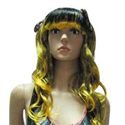 Costume and party wigs, from China (mainland)