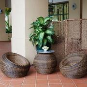 Outdoor rattan furniture set from Vietnam