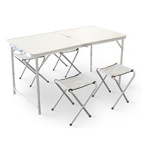 China Portable Aluminum Folding Table