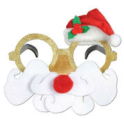 Funny Glittered Santa Claus Glasses from China (mainland)