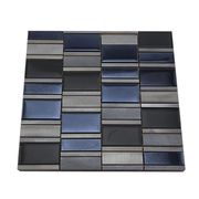 Silver and Grey Aluminum Short Stripe from China (mainland)