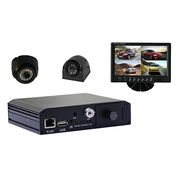 Hot-sale h264 4channel 3G GPS sd Mobile DVR from China (mainland)