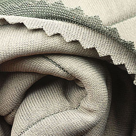 100% Poly Corded Interlock Fabric with Polyfill Inside