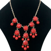 Imitation jewelry plated necklace from China (mainland)