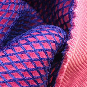 100% Poly 2-tone Sandwich Mesh Fabric from Lee Yaw Textile Co Ltd