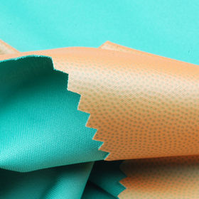 100% Poly Interlock + Colored TPU Laminated Fabric in MVP 1000, WP3000 from Lee Yaw Textile Co Ltd