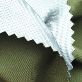 100% Poly Twill and PTFE + Poly Tricot Mesh Fabric in MVP10000, WP15000 and Nano W/R