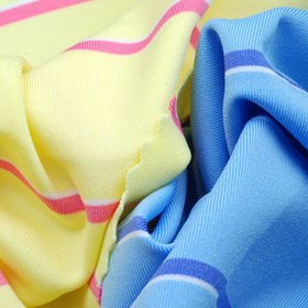 Yarn Dyed Stripe Jersey Fabric, Made of 92% Poly + 8% Spandex, with Wicking and Anti-Bacterial from Lee Yaw Textile Co Ltd