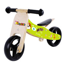 Fashion and modern wooden children's bicycle toy, sized 63*40*36cm, W16C098 model number