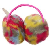 Multicolored Warm Plush Ear Muff from China (mainland)