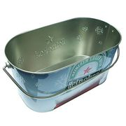 Galvanized Ice Bucket from China (mainland)