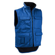 China New design sleeveless men's body warmer