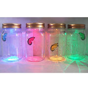 Electronic butterfly glass jar from China (mainland)
