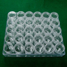 Plastic box with 30 vials a set from Taiwan