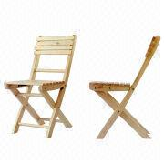 Outdoor Wooden Folding Dining Chair from China (mainland)