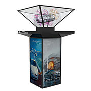 China 3D Advertising Pyramid Holographic Display Showcas