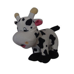 Plush cow soft toy from China (mainland)