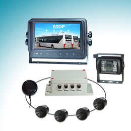 Parking sensor system for commercial vehicle detecting distance 0.60-5.00m (2ft 0in-16ft 6in)