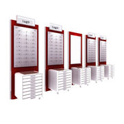 Wooden eye-wear display from China (mainland)