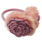 Fashionable Rosette Ear Muffs from China (mainland)