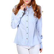Ladies' Long Sleeve Blouse Stock from China (mainland)