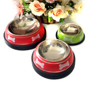 Hot sale pet bowl stainless steel dog bowls OEM We from China (mainland)