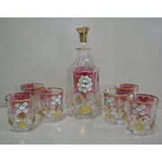 China Crystal-clear Glass Tumbler Set