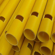 China FRP pipe fiberglass tubes with epoxy resin, OEM High strong&flexible fiberglass products factory