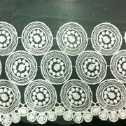 Needlepoint lace trims from China (mainland)