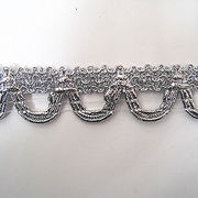 Good-quality Sliver Metallic Gimp Braid Trims from China (mainland)