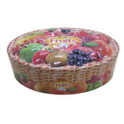 Tin box for cookie and candy from China (mainland)