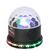 China VS-66BT LED RGB Sunflower Magic Ball Effect Light With Bluetooth