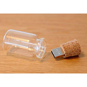 Bottle USB Flash Drive, Wooden Material, OEM USB Factory from Shenzhen Sinway Technology Co. Ltd