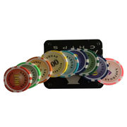 Bar Pattern Poker Chip Set from China (mainland)
