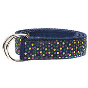 Trendy Navy Canvas Belt from China (mainland)