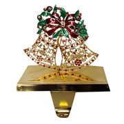 Christmas Bell Stocking Holder from China (mainland)