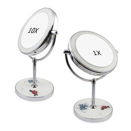 Desktop LED lighted makeup mirror from China (mainland)