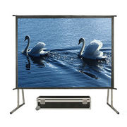 China 4:3 200'' Mobile Folding Projector Screen